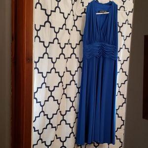 Blue Marilyn Monroe type dress